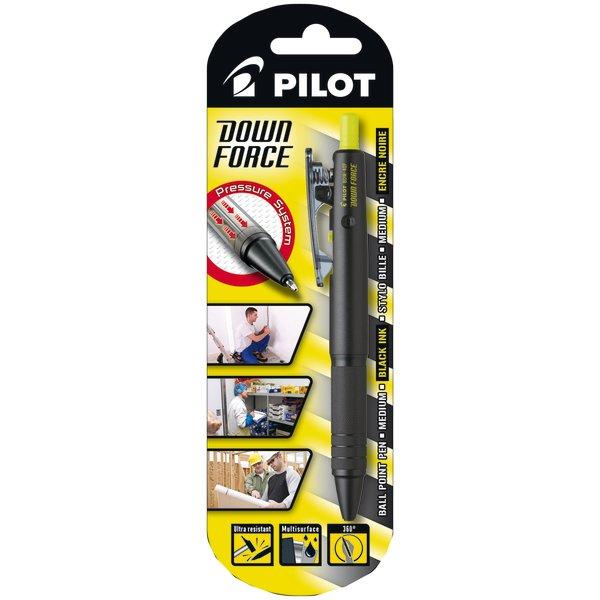 Pilot Down Force 0,31mm, sort