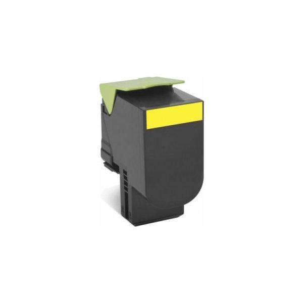 Lexmark 70C2XY0 lasertoner, gul, 4000s
