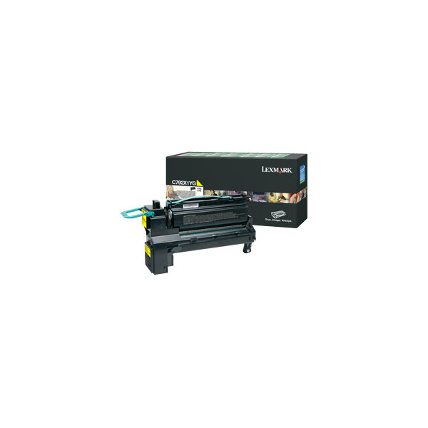 Lexmark C792X1YG lasertoner, gul, 20000s