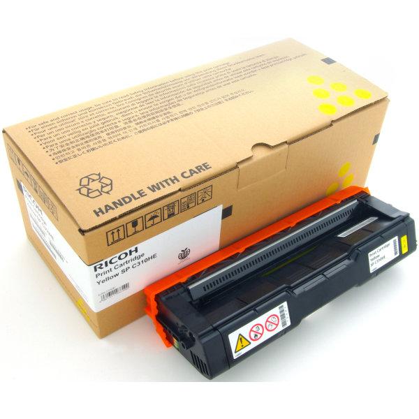 Ricoh 406482 lasertoner, gul, 6000s
