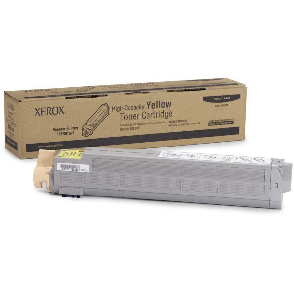 Xerox 106R01079 lasertoner, gul, 18000s