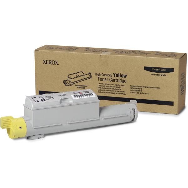 Xerox 106R01220 lasertoner, gul, 12000s