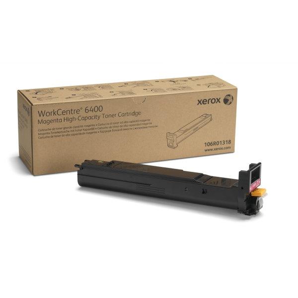 Xerox 106R01318 lasertoner, rød, 14000s