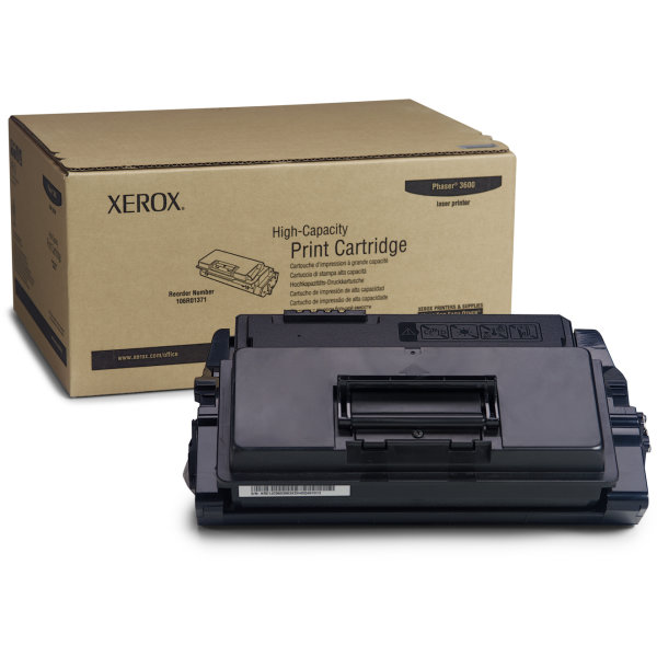 Xerox 106R01371 lasertoner, sort, 14000s