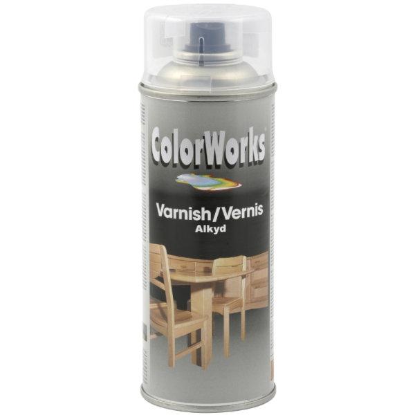 ColorWorks hobbyspray, satinmat lak
