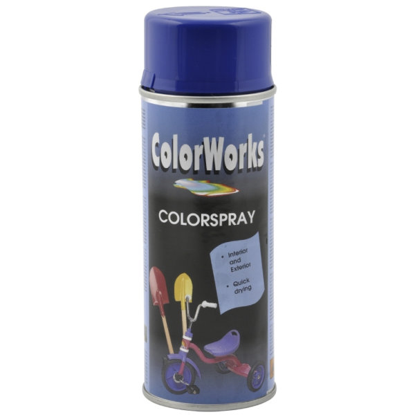 ColorWorks hobbyspray, ultramarineblå