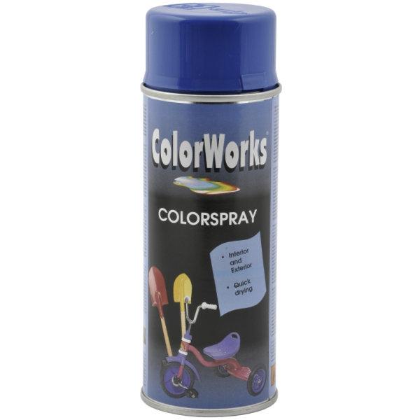ColorWorks hobbyspray, enzianblå