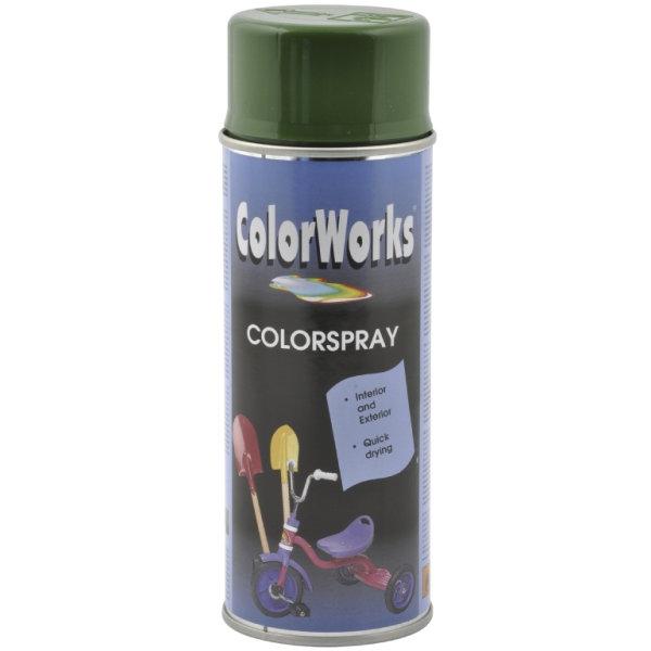 ColorWorks hobbyspray, løvgrøn