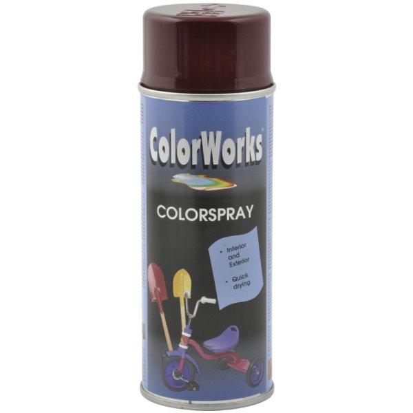 ColorWorks hobbyspray, vinrød