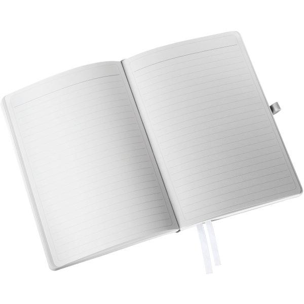 Leitz Style Notesbog A5, linjeret, hvid
