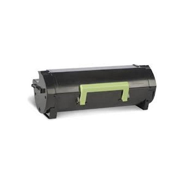 Lexmark 50F2U00 HC lasertoner, sort, 20000s