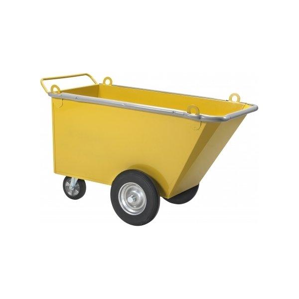 Oprydningsvogn lufthjul, 1460x990x680 mm, 750 kg