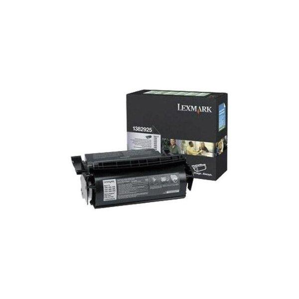 Lexmark 1382925 lasertoner, sort, 17600s