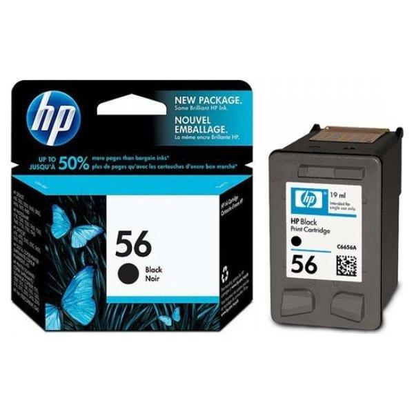 HP nr.56/C6656AE blækpatron, sort, 450s
