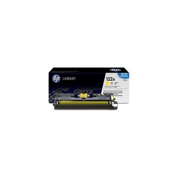 HP 122A/Q3962A lasertoner, gul, 4000s