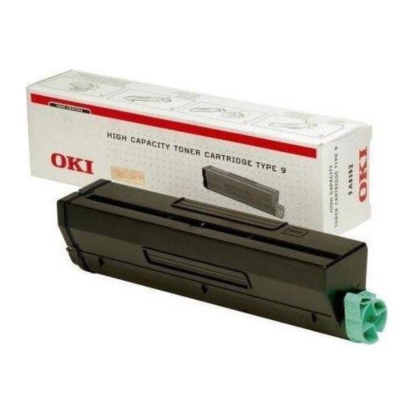 OKI 01101202 lasertoner, sort, 6000s