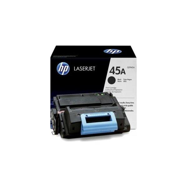 HP nr.45A/Q5945A lasertoner, sort, 18000s