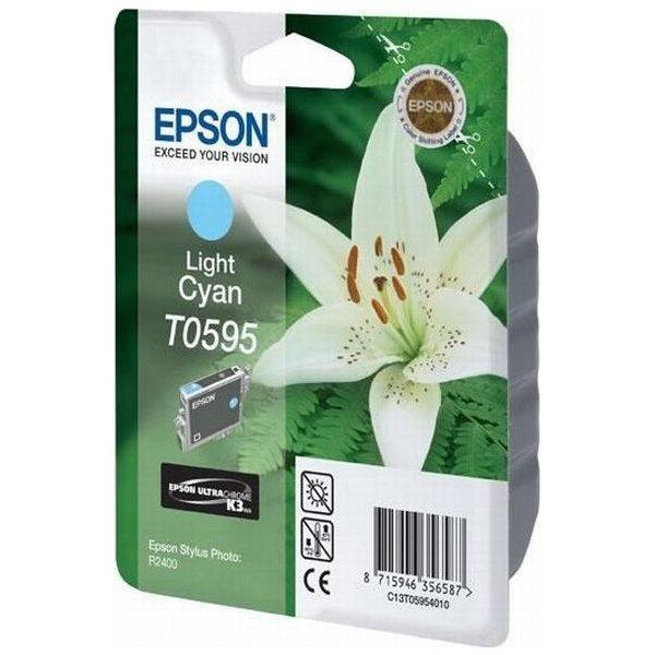 Epson nr.T059/C13T05954010 blækpatron, lys blå, 40