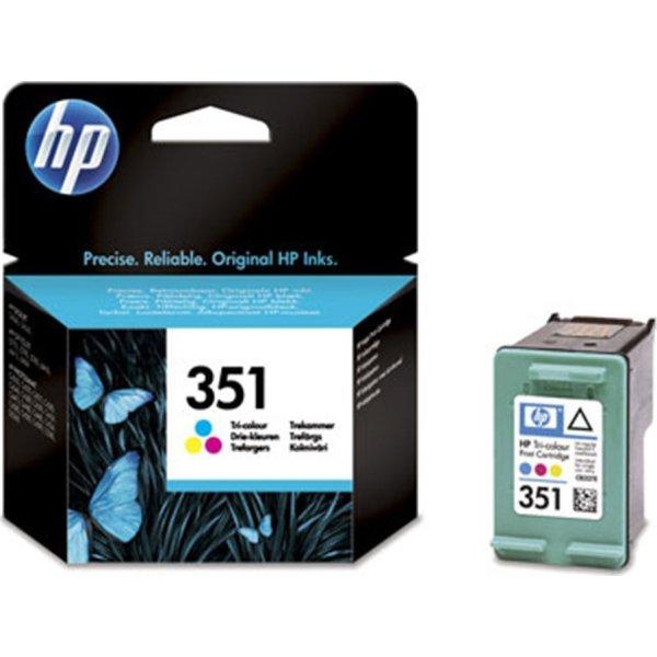 HP nr.351/CB337EE blækpatron, 3-farvet, 170s