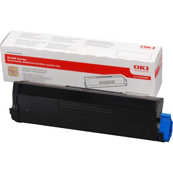 OKI 43501902 lasertromle, sort 20000s