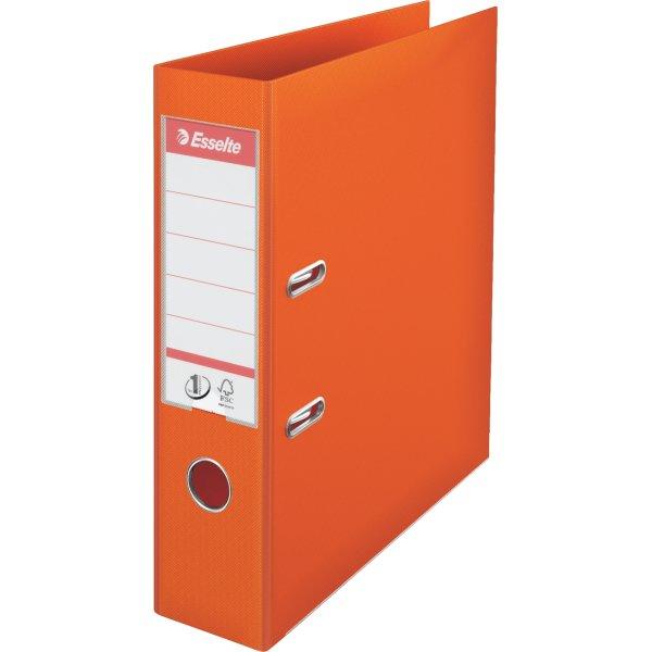 Esselte No.1 brevordner A4, 75mm, orange
