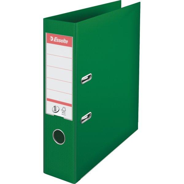 Esselte No.1 brevordner A4, 75mm, grøn