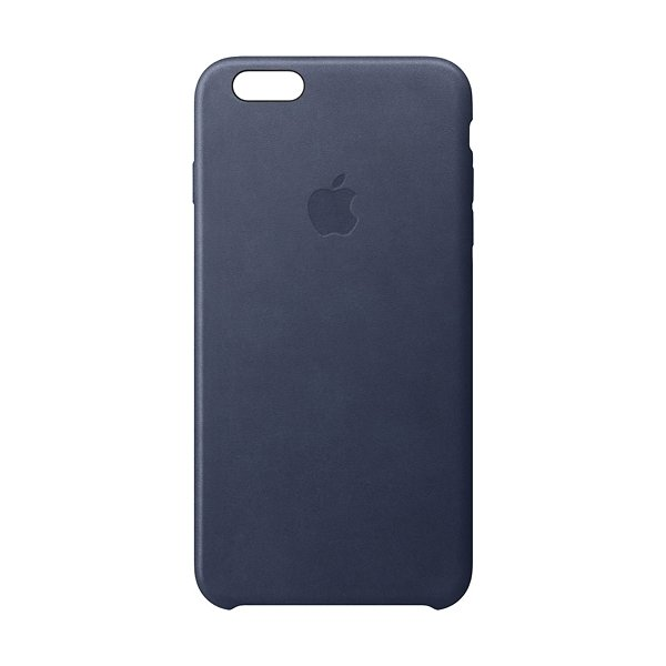 Apple iPhone 6s Leather Case, blå