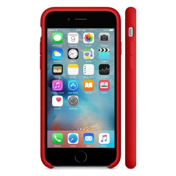 Apple iPhone 6s Silicone Case, rød