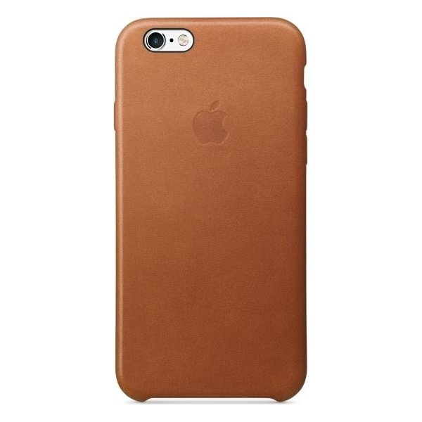 Apple iPhone 6s Plus Leather Case, rødbrun