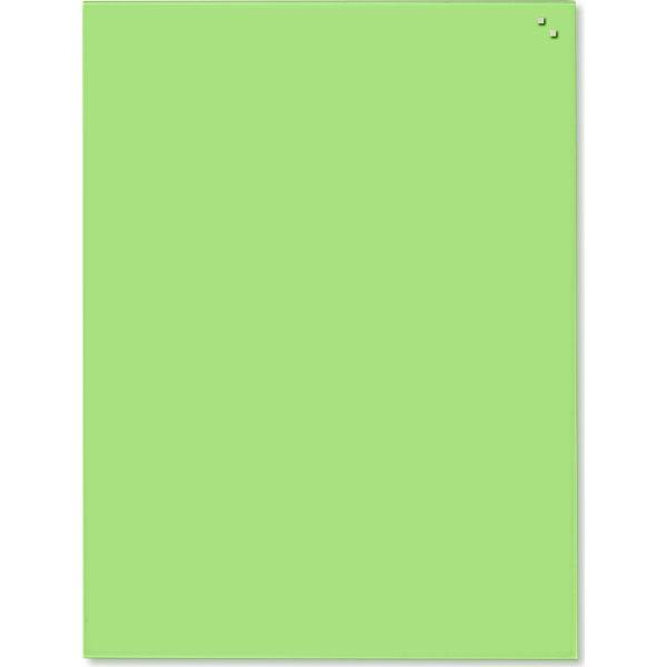 Glassboard magnetisk glastavle 60x80 cm, grøn