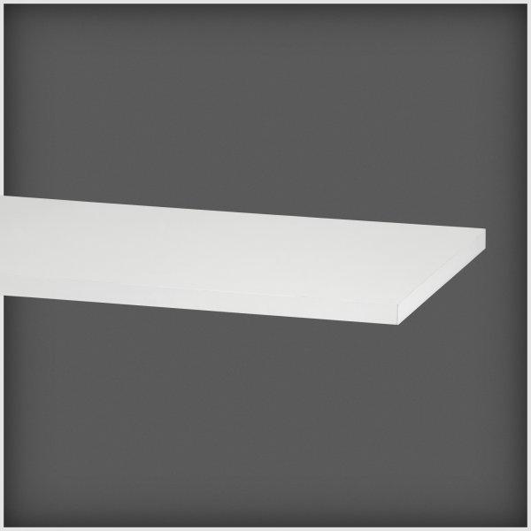 Elfa hylde 50, længde 1200 mm, hvid