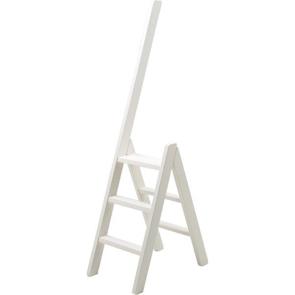 Hindevadgaard trappestige, hvid