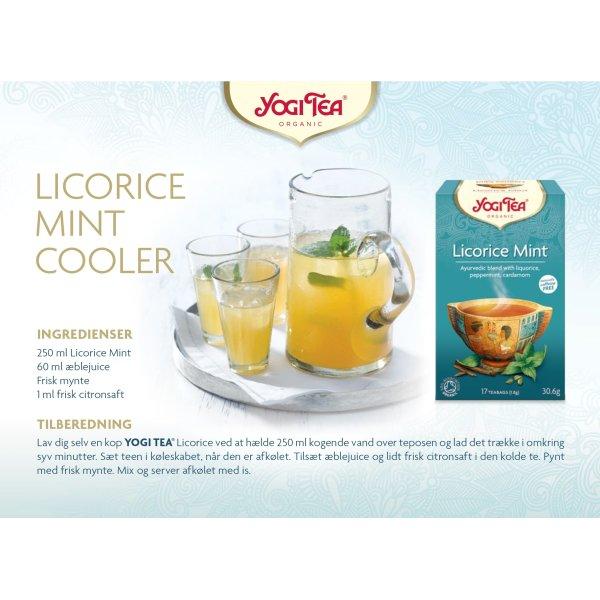 Yogi Tea Licorice Mint, 17 breve