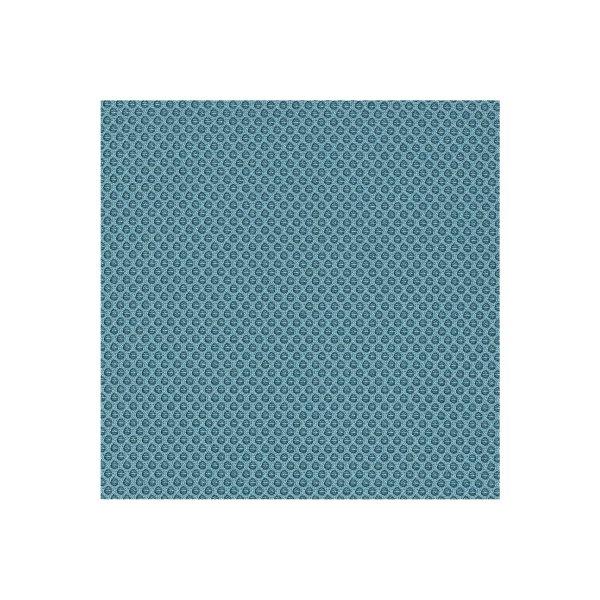 CL Micro stol m/ ryglæn, blå, stof, 47-66 cm
