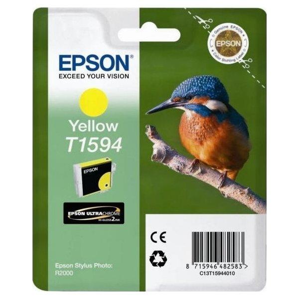 Epson T1594 blækpatron, gul, 17 ml