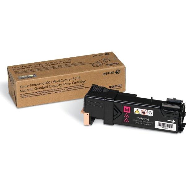 Xerox 106R01592 lasertoner, rød, 1000s.