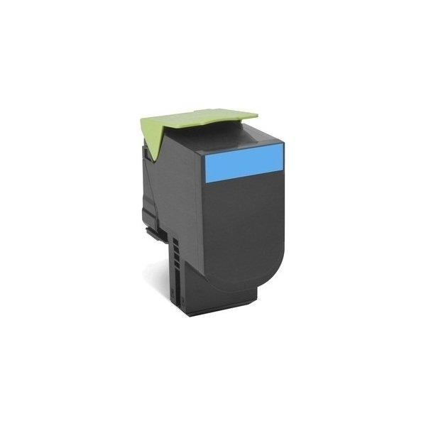 Lexmark 702HC/70C2HC0 lasertoner, blå, 3000s