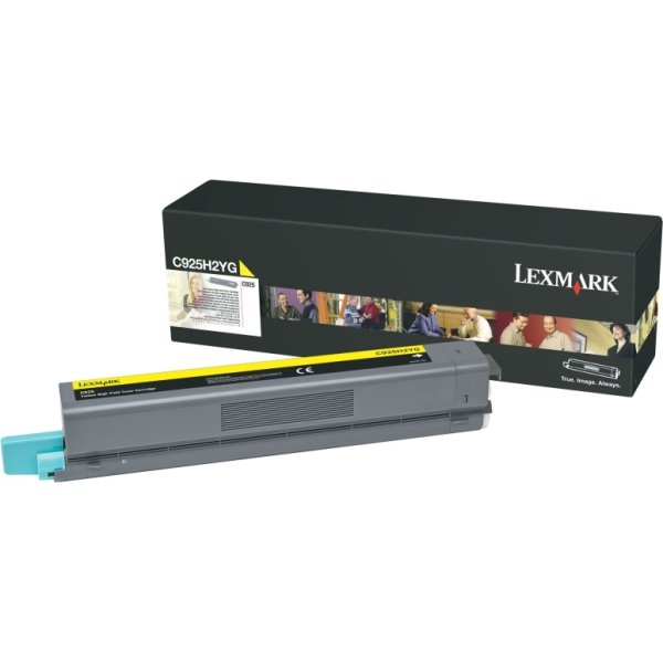 Lexmark C925H2YG lasertoner, gul, 7500s