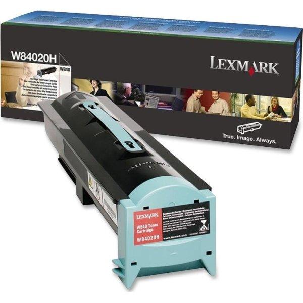 Lexmark W84020H waste toner, sort, 30000s