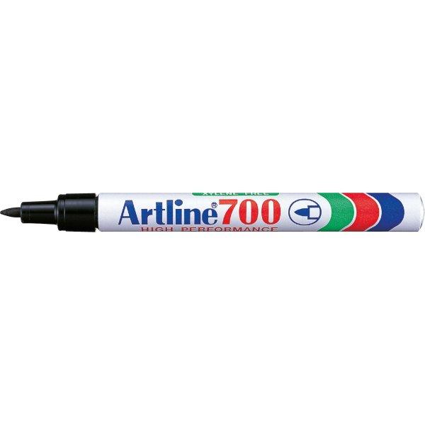 Artline EK700 permanent marker, sort