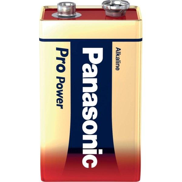 Panasonic str. 9V Pro Power Gold batteri, 1stk