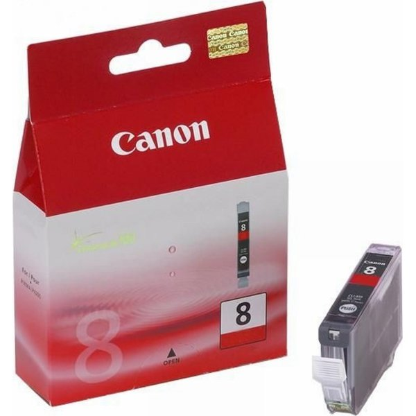 Canon CLI-8R blækpatron, rød, 420s