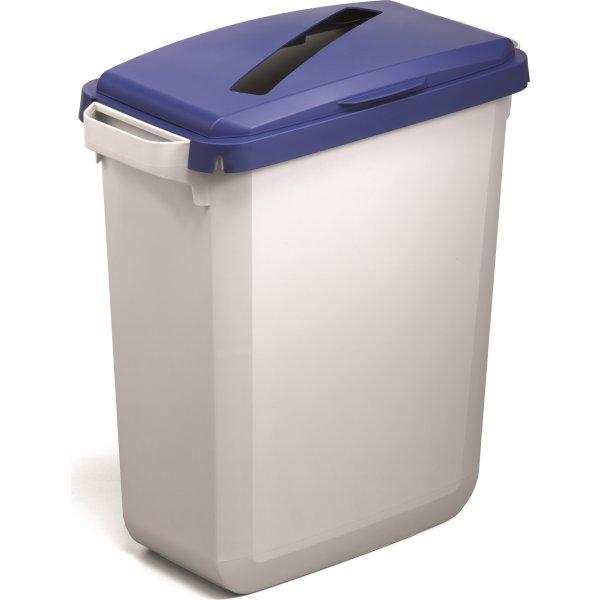 "Låg ""Papir"" til affaldsspand 60 l, Blå"