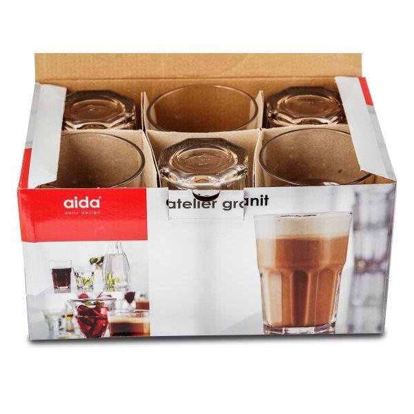 Aida Atelier Granit Drikkeglas, 36 cl
