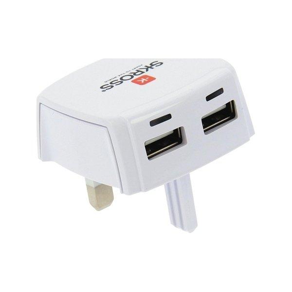 SKross UK/ plugin USB oplader