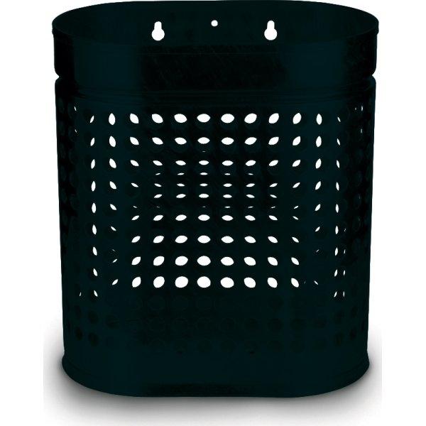 RMIG affaldsspand type 536U, sort mat