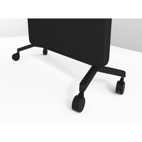 Lintex Mood Fabric fod/ hjulsæt i sort