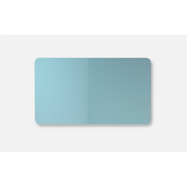 Lintex Mood Fabric Wall Glas, 175 x 100 cm, dueblå