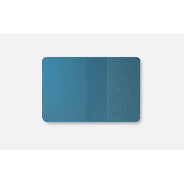 Lintex Mood Fabric Wall Glas, 200 x 100 cm, blå