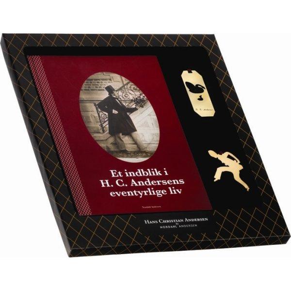 H.C. Andersen Gaveæske med bog og ophæng